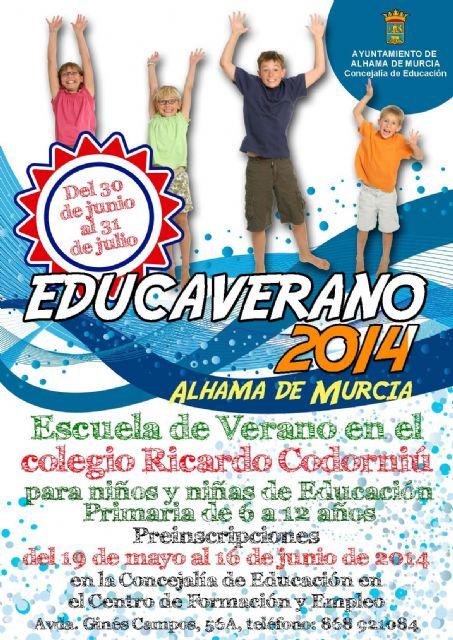 Abierto el plazo de matrícula para el Educaverano y las escuelas de verano de las guarderías municipales, Foto 1