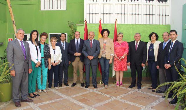 El Presidente Garre visita Puerto Lumbreras y trabaja junto al Equipo de Gobierno en grandes proyectos de desarrollo económico para el municipio - 3, Foto 3