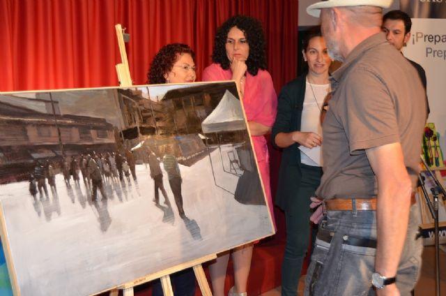 Blai Tomás ganó el II Concurso Nacional de Pintura al Aire Libre Villa de San Javier - 1, Foto 1