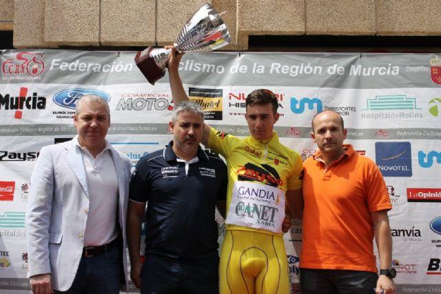 Competida y dura 3ª etapa de la III Vuelta Ciclista Ruta de Cadetes a la Región de Murcia - 1, Foto 1