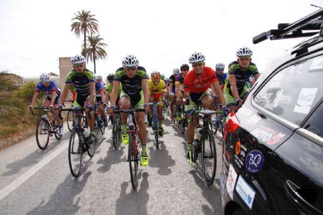 Competida y dura 3ª etapa de la III Vuelta Ciclista Ruta de Cadetes a la Región de Murcia - 4, Foto 4
