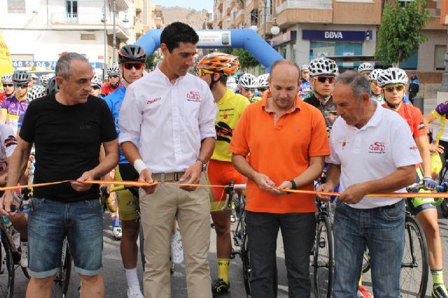 Competida y dura 3ª etapa de la III Vuelta Ciclista Ruta de Cadetes a la Región de Murcia - 5, Foto 5