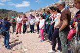 Más de un centenar de personas participan en las visitas guiadas al yacimiento de La Bastida con motivo del Día Internacional de los Museos