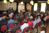 Cerca de un centenar de empresarios de Totana se reúnen con Valcárcel para conocer las propuestas para la creación de empleo