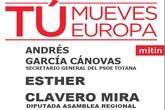 El PSOE de Totana celebrará un mitin en el barrio San Francisco