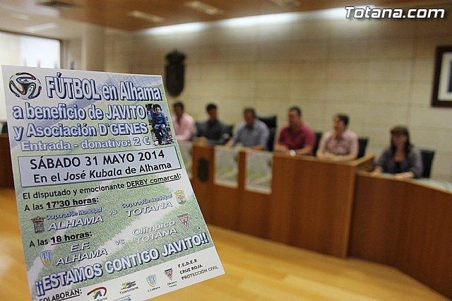 Las corporaciones municipales de Totana y Alhama disputarán un partido a beneficio de Javito y D´Genes, Foto 4