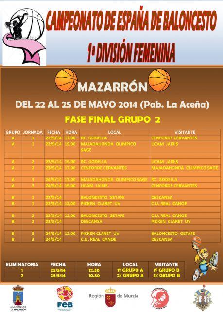 Mazarrón acoge la fase de ascenso a la liga superior femenina dos - 2, Foto 2
