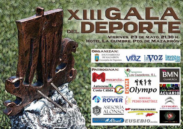 Este viernes 23 de mayo tiene lugar la XIII Gala del Deporte - 1, Foto 1