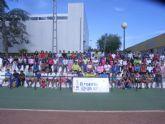 Cien escolares participaron en la jornada de atletismo de Deporte Escolar organizada por la concejalía de Deportes
