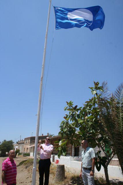 Mazarrón contará este verano con 6 banderas azules en sus playas, una más que el pasado año - 1, Foto 1