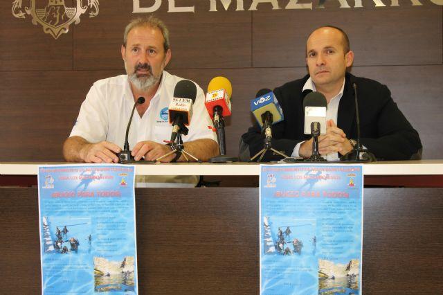 El ayuntamiento y Amigos del azul invitan a los mazarroneros a conocer los fondos marinos a precios populares - 1, Foto 1