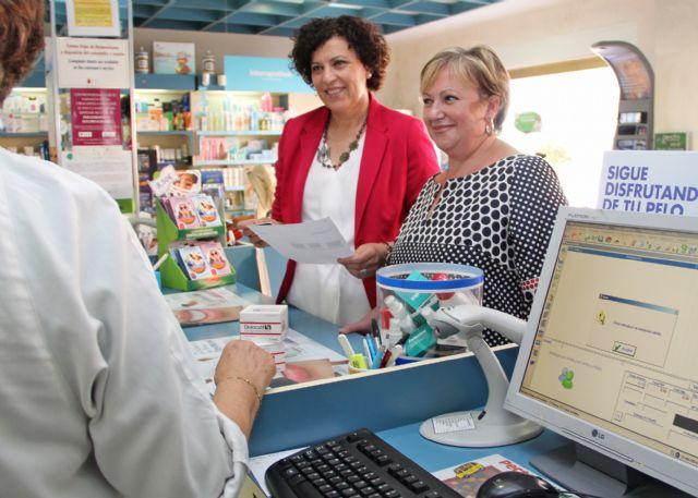 Puerto Lumbreras se convierte en el primer municipio que implanta la receta electrónica en la Comarca del Guadalentín - 1, Foto 1