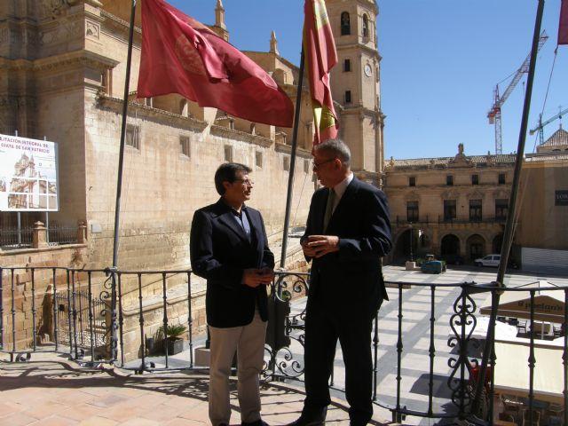 El Alcalde de Lorca agradece a ElPozo Alimentación su