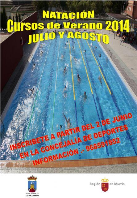 El 2 de junio se abre el plazo de inscripción para los cursos de natación, surf, multiactividad náutica, tenis y tenis de mesa - 1, Foto 1