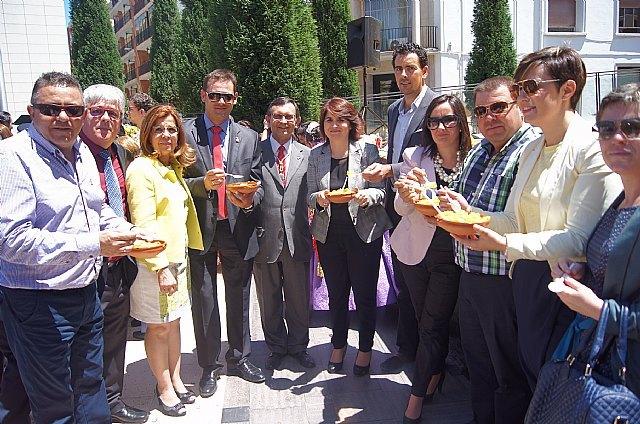 Totana, municipio invitado ayer a la fiesta mayor de Las Calderas de Almassora (Castellón), Foto 1
