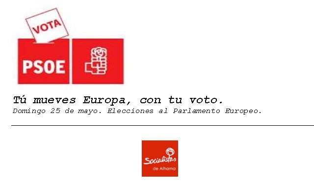 El PSOE de Alhama emplaza a sus vecinos y vecinas a votar, Foto 1