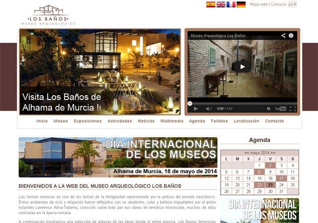 El Museo Arqueológico Los Baños estrena página web con motivo del Día Internacional de los Museos, Foto 1