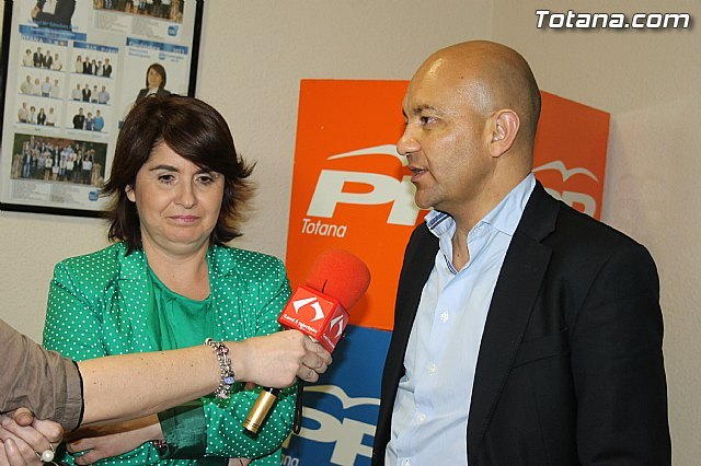 El Secretario de Estado de Comercio anima a los votantes a volver a otorgar la confianza al PP, Foto 1