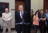 El rector Orihuela valora la colaboración de todos en la toma de posesión del gerente