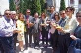 Totana, municipio invitado ayer a la fiesta mayor de 'Las Calderas' de Almassora (Castellón)