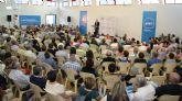 Valcárcel y Garre cierran la campaña electoral para las elecciones europeas con un mitin ante más de 500 personas en Puerto Lumbreras