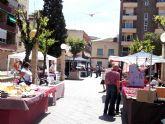 'Mercado artesano las Palomas Villa de Alcantarilla', el domingo en el jardín de la Constitución, último mercado