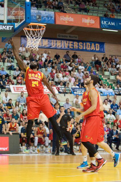 El UCAM Murcia cerró la temporada con una victoria ante su afición (90-82) - 4, Foto 4