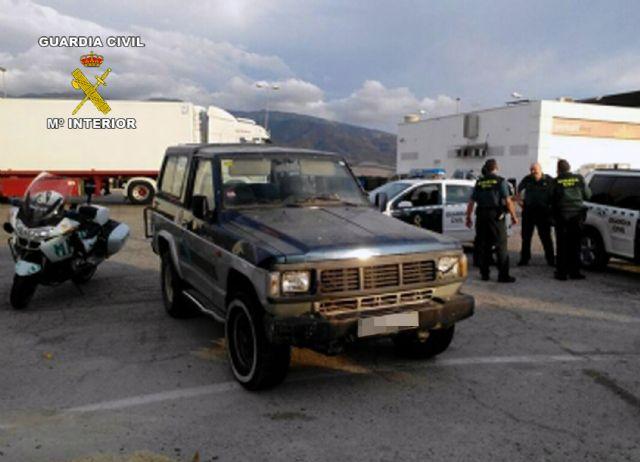 La Guardia Civil detiene a un menor por el robo de un vehículo con el que circuló de forma temeraria durante 70 kilómetros, Foto 1