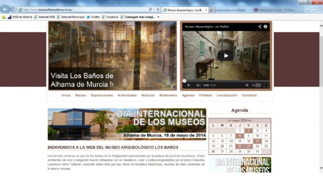 El Museo Arqueológico cuenta ya con su propia web, Foto 1