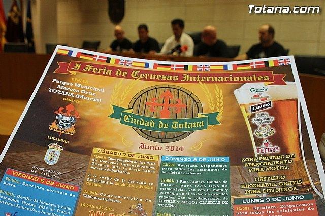 Totana acoge del 6 al 9 de junio la I Feria de Cervezas Internacionales Ciudad de Totana, Foto 5