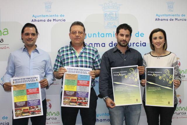 Se presenta el IV Curso Intensivo Musical de Alhama de Murcia, Foto 1