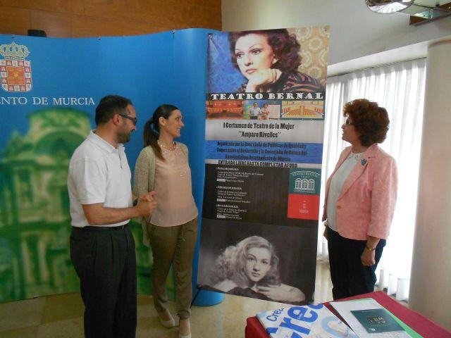 Los centros de la mujer organizan el I Certamen de teatro Amparo Rivelles - 2, Foto 2