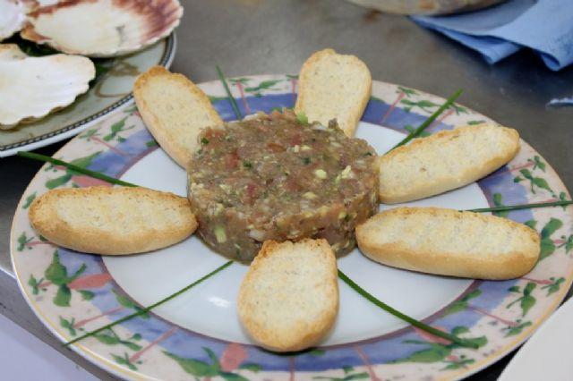 Los escolares de Mazarrón conocen el atún rojo y otros productos de Mazarrón 'cocinando con el alcalde' - 4, Foto 4