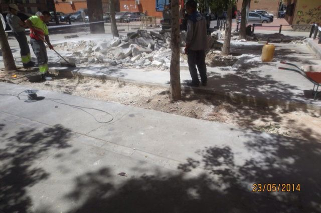 La Plaza de Salamanca del barrio de la Fama lucirá un nuevo pavimento - 2, Foto 2