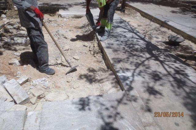 La Plaza de Salamanca del barrio de la Fama lucirá un nuevo pavimento - 3, Foto 3