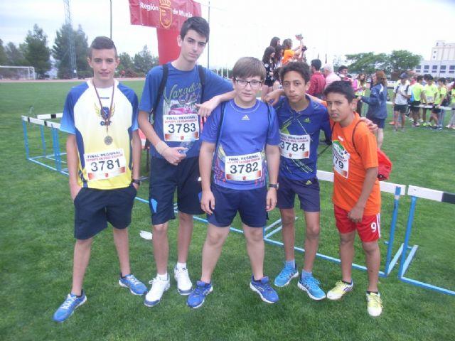 Los colegios Tierno Galván, Luís Pérez Rueda y La Milagrosa participaron en la final regional de atletismo de Deporte Escolar