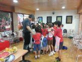 Los escolares elaboran pizza con productos de la Región