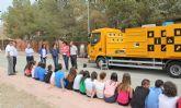 Más de 600 estudiantes lumbrerenses conocen el funcionamiento del Ecoparque Móvil para fomentar el reciclaje y la gestión de residuos