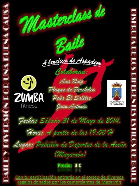 Masterclass de baile a beneficio de la asociación ASPADEM - 1, Foto 1
