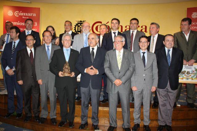 La Cámara de Comercio entrega sus premios Mercurio y al Desarrollo Empresarial 2013, Foto 1