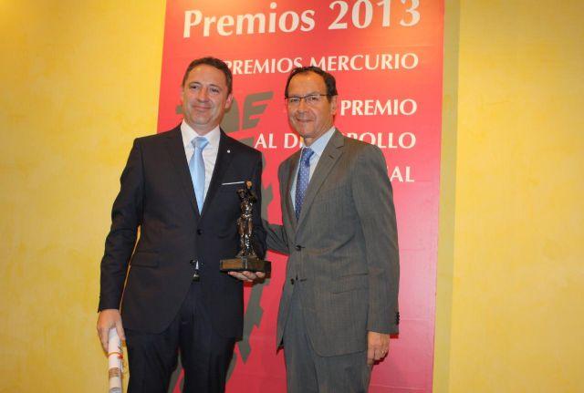 La Cámara de Comercio entrega sus premios Mercurio y al Desarrollo Empresarial 2013 - 2, Foto 2