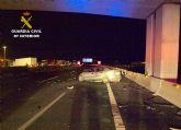 La Guardia Civil detiene al conductor de un vehículo que circulaba en sentido contrario por la autovía A-30 bajo los efectos del alcohol