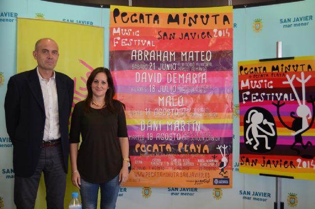 El Festival Pecata Minuta vuelve con Malú, David de María, Dani Martín, y Abraham Mateo - 2, Foto 2