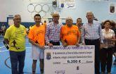 El partido contra el cáncer en Las Torres de Cotillas recauda 6.350 euros
