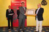 ACIA y el restaurante Casa del Mar premiados por la Cámara de Comercio de Murcia