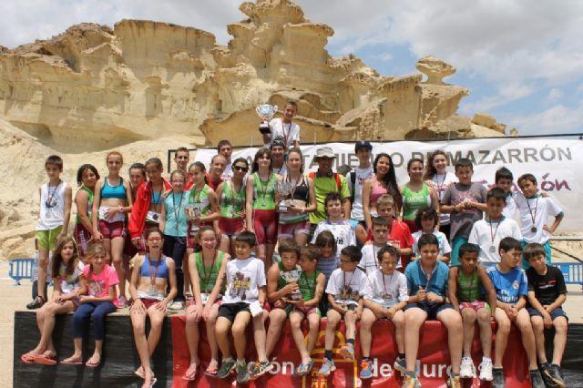 300 escolares disputan en Bolnuevo la final regional de triatlón de Deporte Escolar - 1, Foto 1