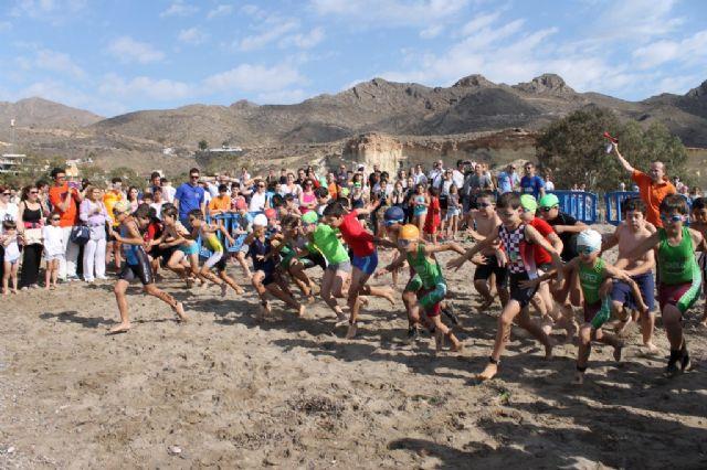300 escolares disputan en Bolnuevo la final regional de triatlón de Deporte Escolar - 3, Foto 3