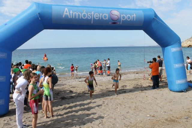 300 escolares disputan en Bolnuevo la final regional de triatlón de Deporte Escolar - 5, Foto 5