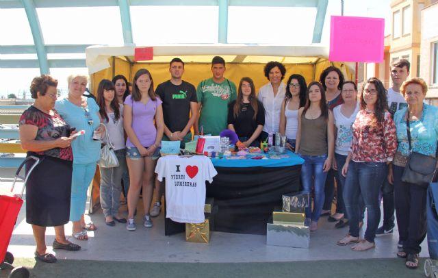Estudiantes del IES Rambla de Nogalte crean una cooperativa con la que venden sus productos en el Mercado Semanal de Puerto Lumbreras - 1, Foto 1