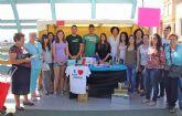 Estudiantes del IES Rambla de Nogalte crean una cooperativa con la que venden sus productos en el Mercado Semanal de Puerto Lumbreras